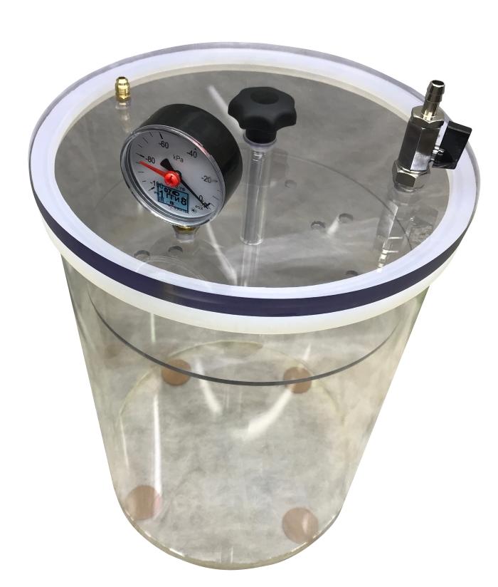 Вакуумная камера (26л) для испытания упаковки СМ-155