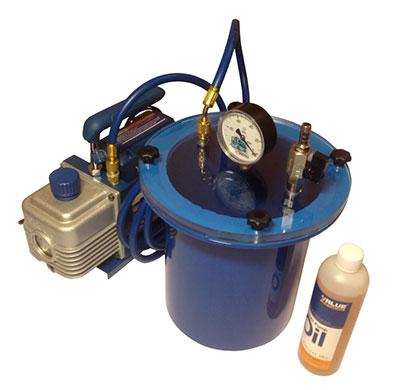 Система для вакуумной инфузии и дегазации МВС-2